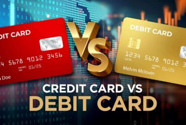 difference between a credit card and a debit card.